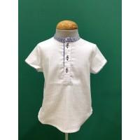 Camisa niño cuello mao flamenco Lolittos