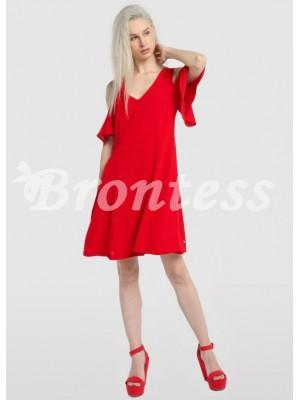 Vestido rojo mujer Victorio y Lucchino