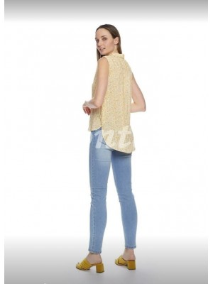Camisa mujer mostaza