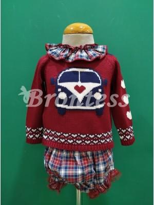 Conjunto jersey braga vintage Lolittos