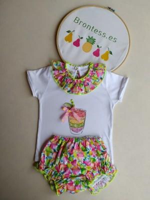 Conjunto camiseta braga fruits Lolittos
