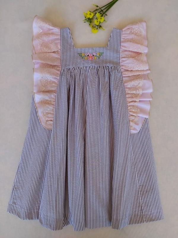 Vestido ruliña Ana Leza