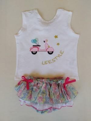 Conjunto glicina camiseta vespa Ana Leza