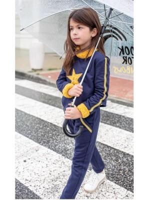Conjunto sport chandal azul estrella Nekenia