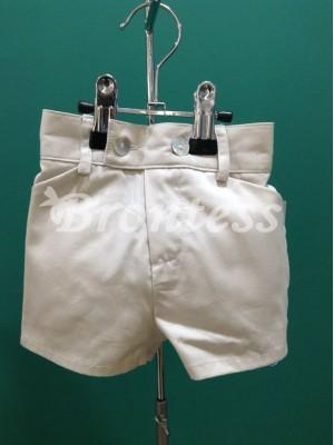 pantalon recto beige